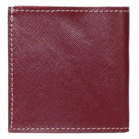 Портмоне женское Premier-М-55 натуральная кожа 1 отд,    2 карм,    бордовый сафьян/бежевый сафьян   (582-528)
