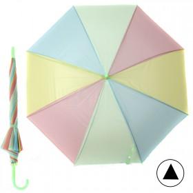 """Зонт детский 371-005,  R=47, 5см,  полуавт;  8спиц-сталь;  трость;  полиэстер,  """"Радуга"""" 208558"""
