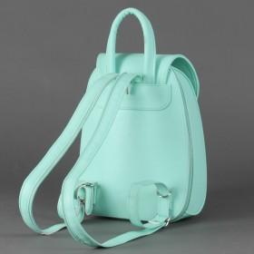 Сумка женская искусственная кожа GR-1367    (рюкзак-мини) ,    1отд,    1внут карм,    мята