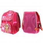 Рюкзак Арлион-605 детский /эргоном спинка/,    2отд+3внешн карм/,    розовый    (щенок)