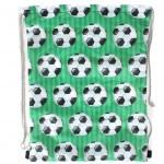 Мешок для сменной обуви-Юпитер 3114.37К,    фут.мячи,    зеленый