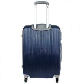 "Чемодан 28"" MyxBag- (90л),  4 колеса,  пластик,  темно-синий  208999"