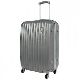 """Чемодан 28"""" MyxBag- (90л),  4 колеса,  пластик,  серый  209002"""