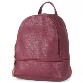 """Сумка женская искусственная кожа M.Bag-""""  Марсиль""""      (рюкзак)    ;    2отд,    1внут+1внеш карм,    бордо"""