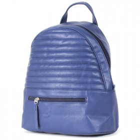 """Сумка женская искусственная кожа M.Bag-""""  Аризона""""      (рюкзак)    ;    1отд,    1внут+1внеш карм,    синий"""
