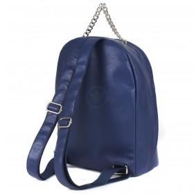 """Сумка женская искусственная кожа M.Bag-""""  Эшли""""      (рюкзак)    ;    1отд,    1внут карм,    синий"""