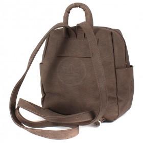 Сумка женская искуственная кожа GR-1616  (рюкзак-мини),  1отд,  3внут+3внеш карм,  taupe 209571