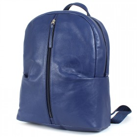 """Сумка женская искусственная кожа M.Bag-""""  Арарат""""      (рюкзак)    ;    1отд,    1внут+1внеш карм,    синий"""