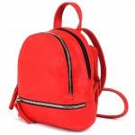 """Сумка женская искусственная кожа M.Bag-""""  Майями""""      (рюкзак-мини)    ;    2отд,    1внут+1внеш карм,    красный"""