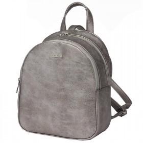Сумка женская искусственная кожа ADEL-91   (рюкзак) ,    2отдела,    серебро антик