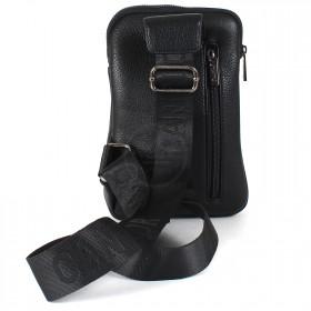 Cумка муж искусственная кожа Cantlor-L 304-5,  1отд,  2внеш+1внут/карм,  плечевой ремень,  черный 209762