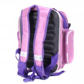 Рюкзак Арлион-33А,    жесткое эргоном спинка,    2 отд,   4 внеш карм,    светло-розовый    (My Friend)