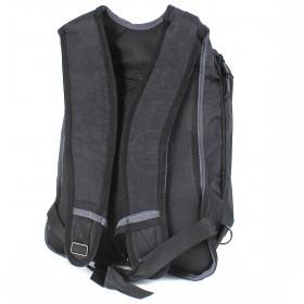 Рюкзак Арлион-602 эргономическая спинка,    2отд,    1 внеш карм,    черный/зеленый