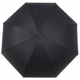 Зонт женский TR-0000. R=60см,    наоборот;    трость;    8спиц-сталь+fiber;    СМАРТ,    полиэстер,       (георгин)    черный