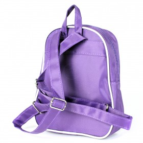 Рюкзак детский Silver Top-1040 Кроха прост спинка/Teddy,  фиолетовый,  медведь 211770