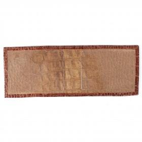 Обложка для удостоверения PRT-У-50 натуральная кожа рыжий кайман 211987