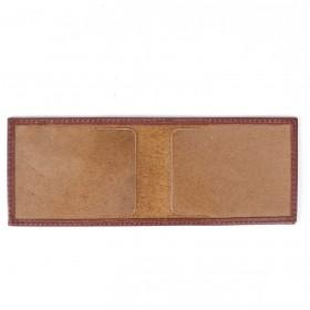 Обложка для пенсионного удостоверения PRT-У-54 (горизонт)  натуральная кожа коричневый орфей 211992