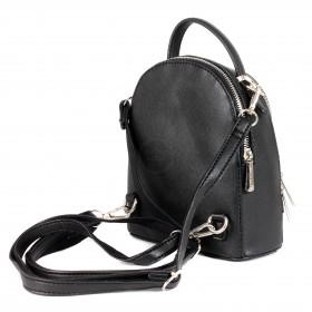 Сумка женская искусственная кожа DJ-5806-2-BLACK    (рюкзак) ,    2отд,    2внут/карм,    черный
