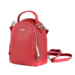 Сумка женская искусственная кожа DJ-5806-2-D.RED    (рюкзак) ,    2отд,    2внут/карм,    красный
