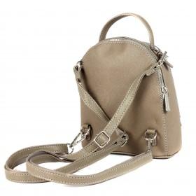 Сумка женская искусственная кожа DJ-5806-2-TAUPE    (рюкзак) ,    2отд,    2внут/карм,    кофе