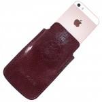 Футляр для мобильного телефона F-4,    бордо аметист   (117)
