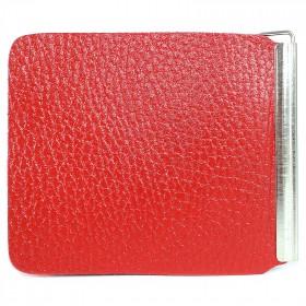 Зажим для купюр FNX-LZ-01 н/к,  красный флотер (113)  212598