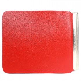 Зажим для купюр FNX-LZ-01 н/к,  красный гладкий матовый (316)  212599
