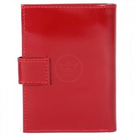 Портмоне женское Premier-О-76   (+авто/док)    н/к,    2 отд,    1 карм,    красный гладкий   (135)