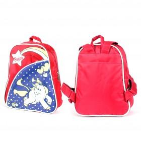 Рюкзак детский Silver Top-1040 Кроха прост спинка/ Pegas,  розовый/фиолет,  лошадка 212816