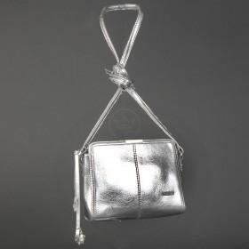 Сумка женская искусственная кожа ADEL-42,  1отд,  серебро 213233