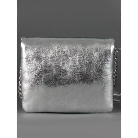 Сумка женская искусственная кожа ADEL-66,  2отд,  серебро 213235