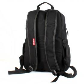 Рюкзак муж Rise-м-360,  уплот.спинка,  2отд,  2внеш карм,  отд для ноутбука,  черный  213378