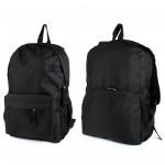 Рюкзак муж Дизайн-125,    уплот спинка,    1отд. 4внеш карм,    черный