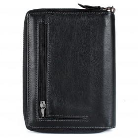 Кошелек+авто+паспорт муж натуральная кожа H-064B,  3отд+9карм,  ручка/петля,  черный 213681