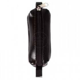 Футляр для ключей-FNX-КЛМ-101 (малая)  натуральная кожа коричневый наплак (348)  214294