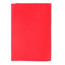 Обложка для паспорта натуральная кожа O.1.FV.красный 214353