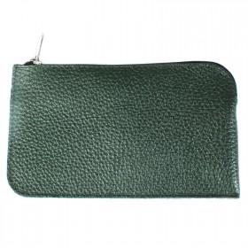 Ключница натуральная кожа KL.56.PM.темно-зеленый. 214372