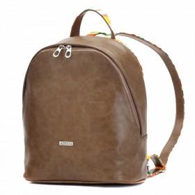 Сумка женская искусственная кожа ADEL-45   (рюкзак) ,    1отдел,    коричневый