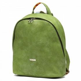 Сумка женская искусственная кожа ADEL-45   (рюкзак) ,    1отдел,    зеленый