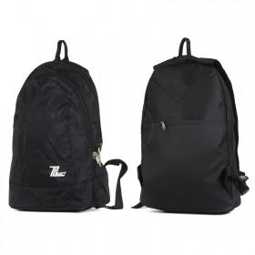 Рюкзак муж TL-РМ-01    (жатка) ,    уплотн.спинка,    2отд,    черный
