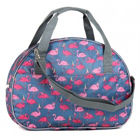 Сумка дорожная TL-ССД-02,    1отд,    2внеш карм,    плечевой ремень,    фламинго розовый