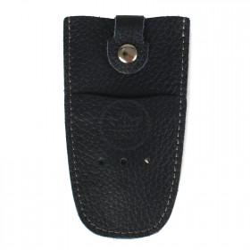 Футляр для ключей Premier-К-112 натуральная кожа синий тем флотер   (351)