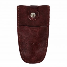 Футляр для ключей Premier-К-112 натуральная кожа коричневый тем пулл-ап   (152)