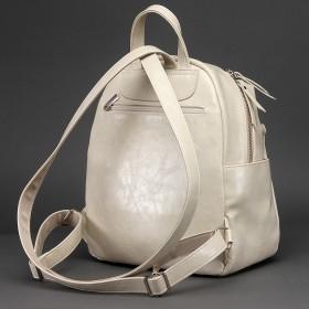 Сумка женская искусственная кожа ADEL-109/ММ   (рюкзак) ,    1отдел,    бежевый