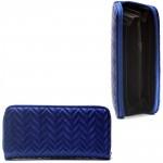 Кошелек женский искусственная кожа 1300,    1 молния,    6отд,    8 карм,    синий