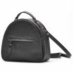 Сумка женская искусственная кожа GR-1497    (рюкзак) ,    2отд,    1внут+1внеш карм,    черный