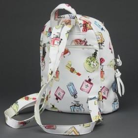 Сумка женская искусственная кожа ADEL-82/ММ   (рюкзак) ,    1отд,    белый духи