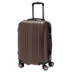 """Чемодан 24""""   Картекс-   (60л) ,    0209 ABS,    4 колеса,    пластик,    коричневый"""