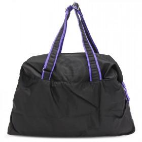 Сумка молодежная SKP-221,  1отд,  регул/ручки,  черный/фиолет  (Glamour)  216870