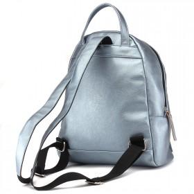 """Сумка женская искусственная кожа M.Bag-""""  Аризона""""      (рюкзак)    ;    1отд,    1внут+1внеш карм,    тем.серебро"""